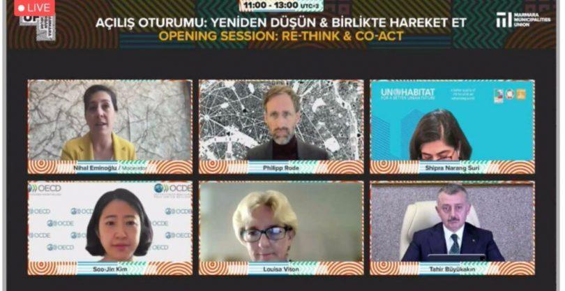 Dünyanın en büyük online kent forumunun açılışı yapıldı (5)